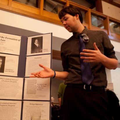 Student Researchers Strut Their Stuff at Symposium