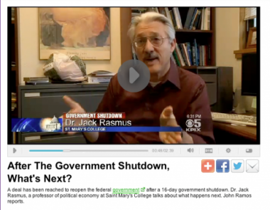 Politics and economics professor Jack Rasmus talks winners and losers in the deal to reopen the government.