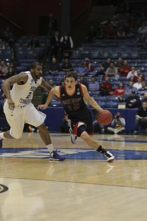 Giusti could always handle the ball, but he turned into a tenacious defender in challenging practice sessions guarding Saint Mary's star point guard Matthew Dellavedova '13.