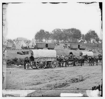 Savage Station, VA, Headquarters of General McClellan
