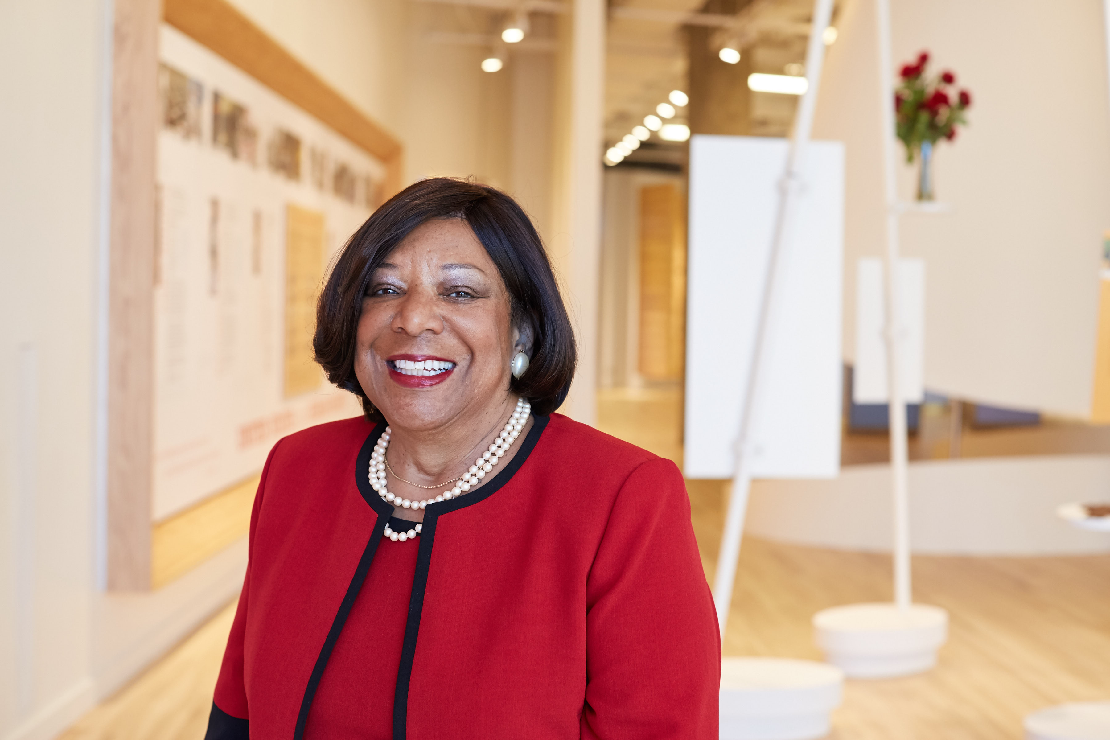 Deborah Richardson, an SMC alumna and senior advisor of partner engagement for the National Center for Civil and Human Rights in Atlanta