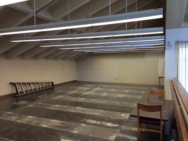 Future site on the third floor of group study rooms