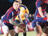 [The Saint Mary's rugby team won its first-ever USA Rugby Division 1A national championship with a 21-6 triumph over Life University of suburban Atlanta May 10 at Stanford's Steuber Rugby Stadium. The Gaels used outstanding defense to prevail in a rematch of last year's national final that Life rallied to win after SMC led at halftime.]