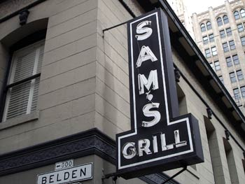 Gift Certificate to Sam's Grill in San Francisco