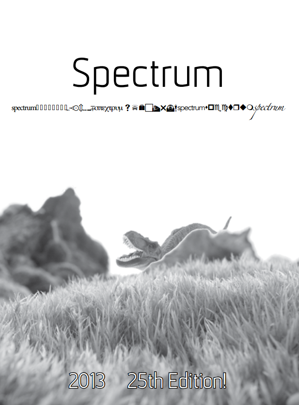 Cover of the 2013 edition of Spectrum