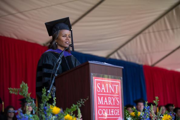 The Honorable Kandis A. Westmore, who serves as a magistrate judge for the United States District Court for the Northern District of California, offered the Graduate and Professional Studies Commencement address on Sunday, May 27, 2018.