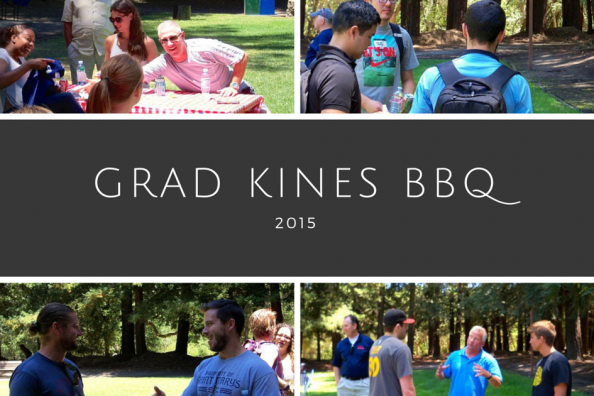 Graduate Kinesiology 2015 Annual Summer BBQ