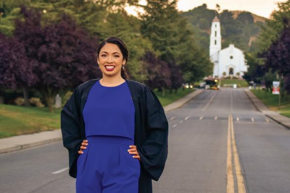 Marielle Gardner '19 relied on scholarships to fund her education and achieve her academic goals. She will begin a PhD program in the fall.