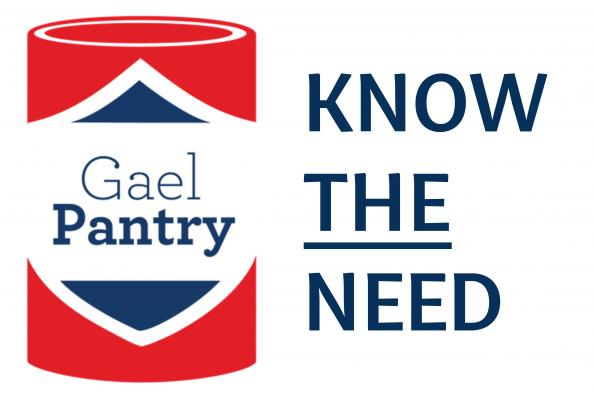 Know THE Need GaelPantry Logo