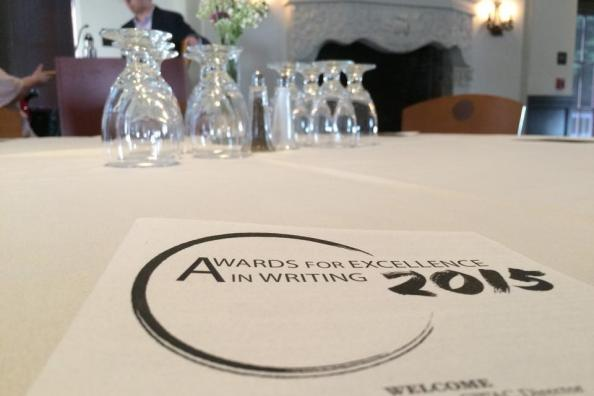 Awards for Excellence in Writing 2015