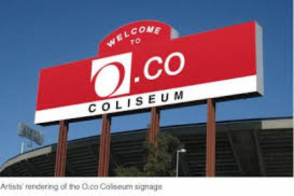 O.co Coliseum entrance