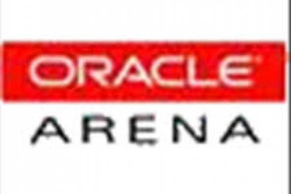 Oracle Arena logo