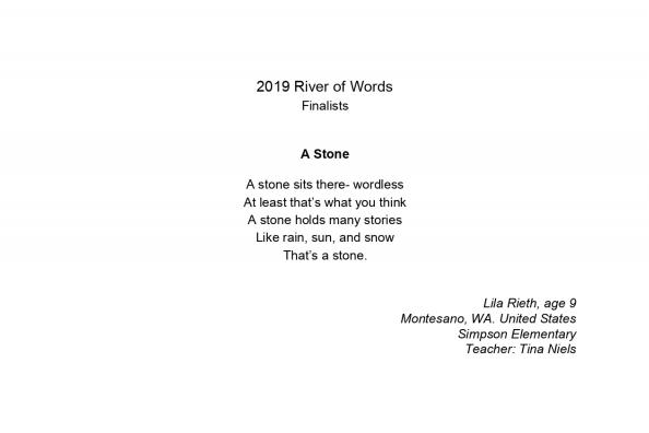 """A Stone""