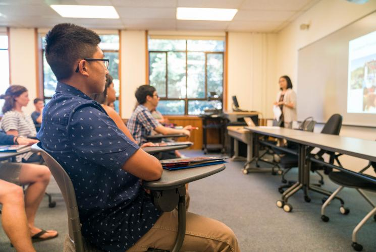 Students engage in various activities during Orientation at Saint Mary's.