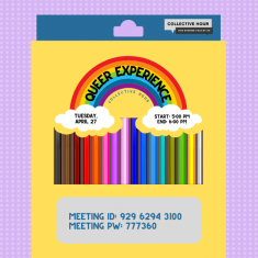 Image for Queer Experience: Collective Hour