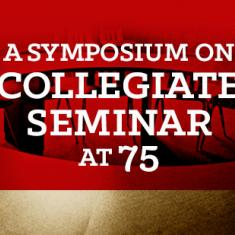 Image for The Great Conversation: A Symposium on Collegiate Seminar at 75