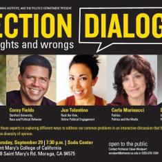 Image for Election Dialogue: Voting Rights and Wrongs