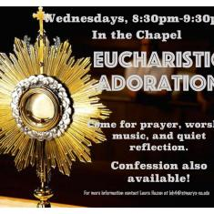 Image for Eucharistic Adoration
