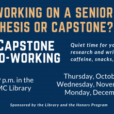 Image for Capstone Co-Working in the Library