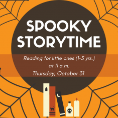 Image for Spooky Storytime