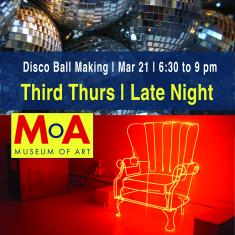 Image for Third Thurs |  Late Night: Disco Ball Making