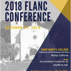 Image for 2018 FLANC Conference at St. Mary's College of California