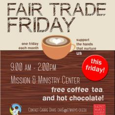 Image for Fair Trade Friday