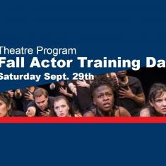 Image for Theatre Program Fall Actor Training Day