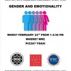 Image for Wellness Wednesday: How Does Your Gender Identity Influence Your Emotional Expression?