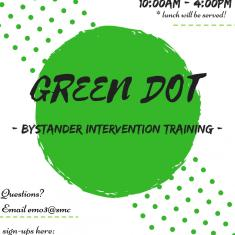 Image for Green Dot Bystander Intervention Training for Students