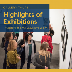 Image for Canceled: Gallery Talks & Tours: Highlights of Exhibitions