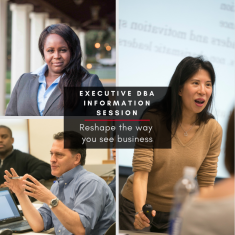 Image for Information Session: Executive Doctorate in Business Administration (ONLINE WEBINAR)
