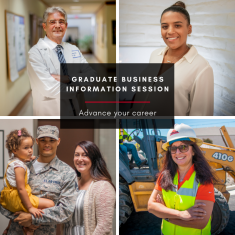 Image for  Information Session: Graduate Business (ONLINE)