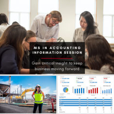 Image for Information Session: M.S. in Accounting (ONLINE)