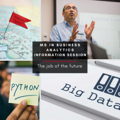 Image for  Information Session: M.S. in Business Analytics (ONLINE)