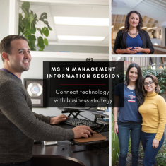 Image for Information Session: MS in Management & Technology (ONLINE)