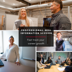 Image for Information Session: Professional MBA (ONLINE)