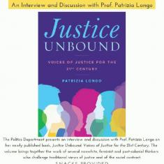 Image for Justice Unbound - A Conversation With Professor Longo
