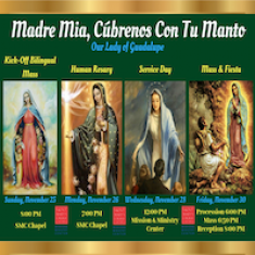 Image for Our Lady of Guadalupe Events
