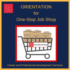 Image for One-Stop Job Shop ORIENTATION