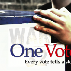 Image for ONE VOTE FILM COUCH PARTY