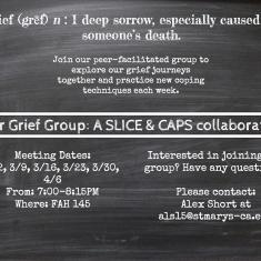 Image for Peer Grief Group for Students