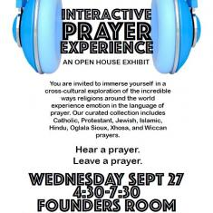 Image for Interactive Prayer Experience