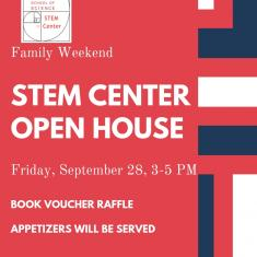 Image for STEM Center Open House (Parent and Family Weekend 2018)