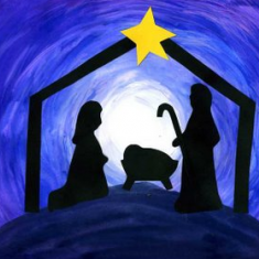 Image for Nativity Scene Setup in the Chapel