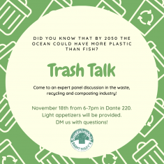 Image for Trash Talk - An Expert Panel Discussion in the Waste and Recycling Industry