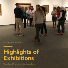 Image for Gallery Tours: Highlights of Exhibitions