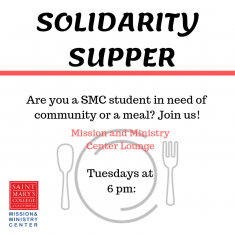 Image for Solidarity Supper