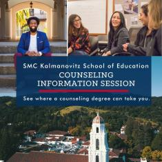 Image for Master of Arts in Counseling Information Session - Kalmanovitz School of Education - Preview Week