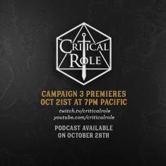 Image for Critical Role Campaign 3 Watch Party